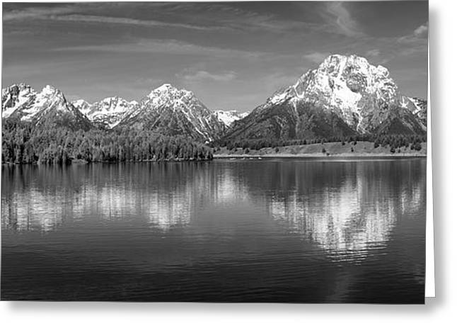 Grand Teton Tranquility Greeting Card