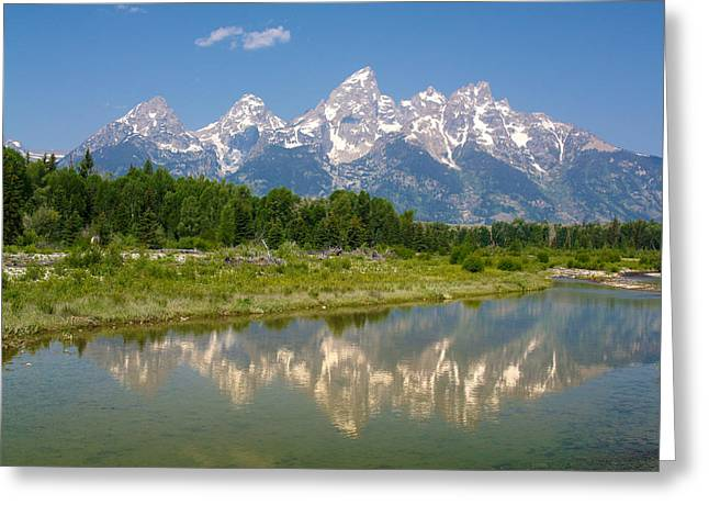 Grand Teton View Greeting Card by Phil Stone