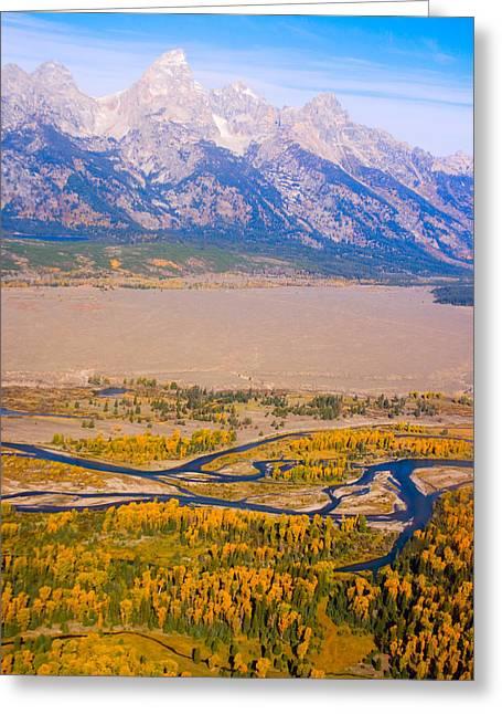 Grand Tetons Views Greeting Card by James BO  Insogna