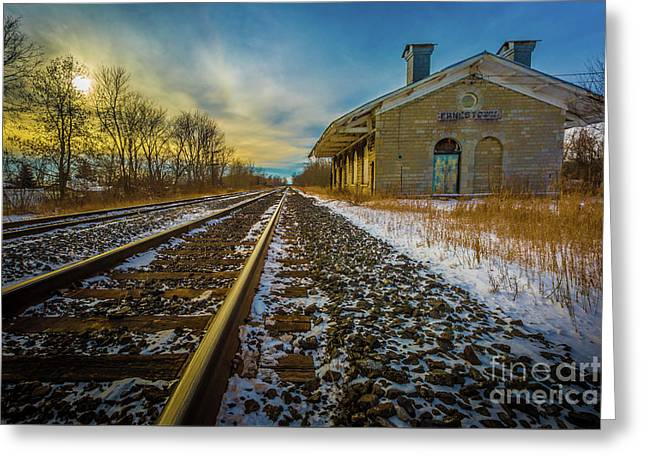 Grand Trunk Station  Greeting Card