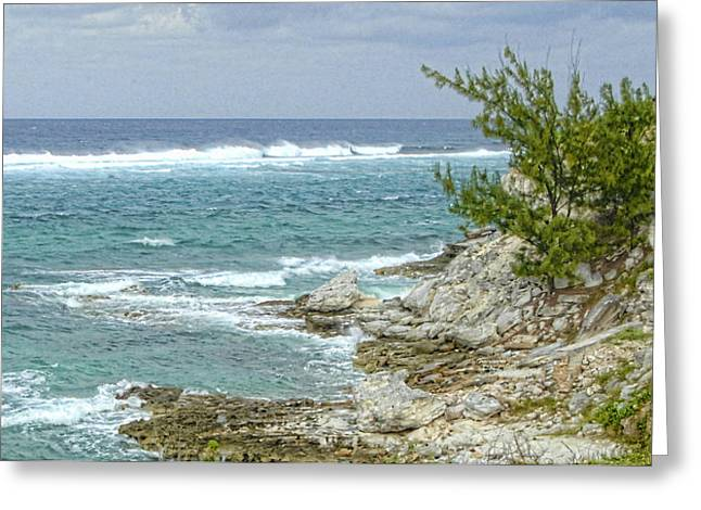 Greeting Card featuring the photograph Grand Turk North Coast by Michael Flood