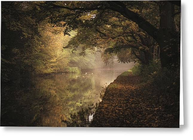 Grand Union Canal No 5 Greeting Card