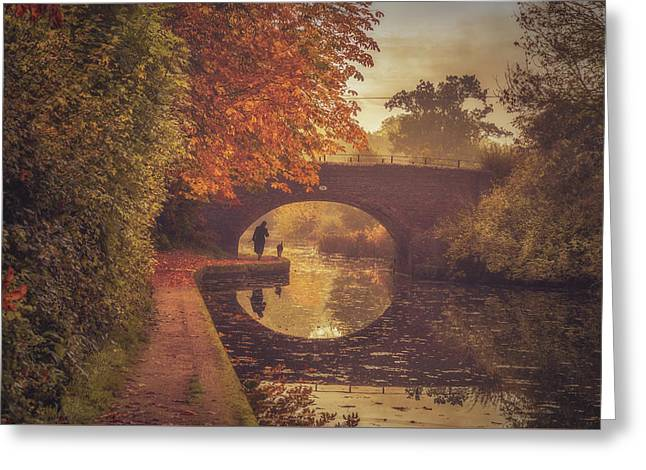 Grand Union Canal No 6 Greeting Card by Chris Fletcher