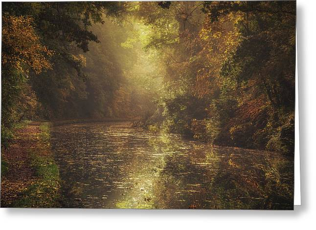 Grand Union Canal No 7 Greeting Card