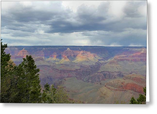Greeting Card featuring the photograph Grand View by Gordon Beck