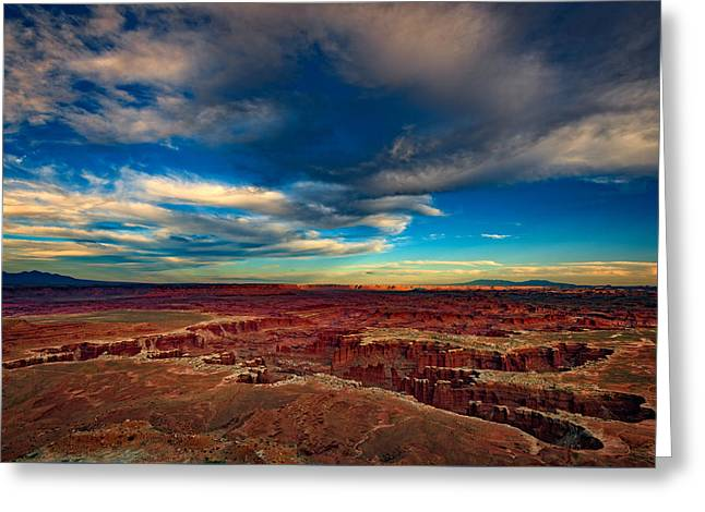 Grand View Point Greeting Card by Rick Berk