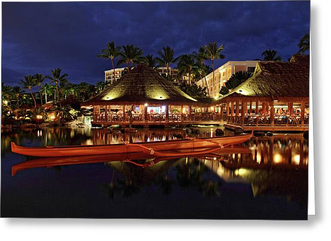Grand Wailea Maui Greeting Card by Pierre Leclerc Photography