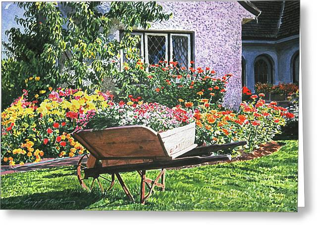 Grandad's Wheelbarrow Greeting Card