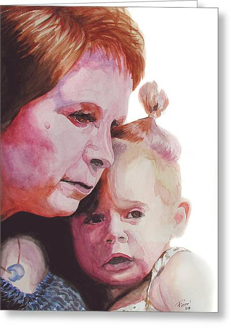 Grandchild Greeting Card by Ferrel Cordle