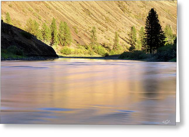 Grande Ronde River Greeting Card by Leland D Howard