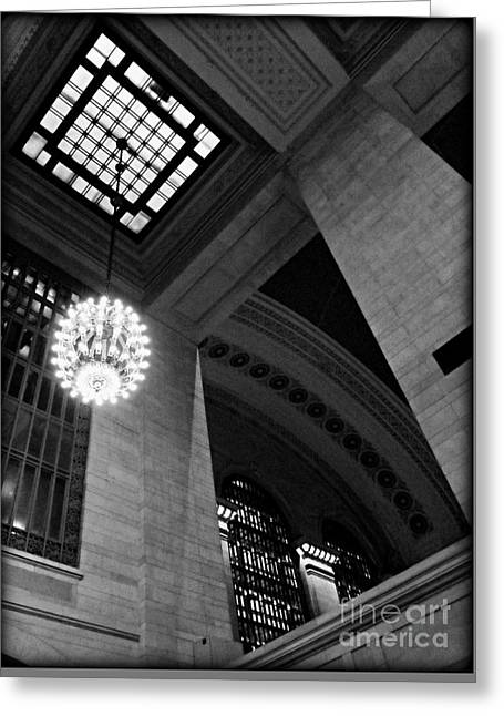 Grandeur At Grand Central Greeting Card by James Aiken