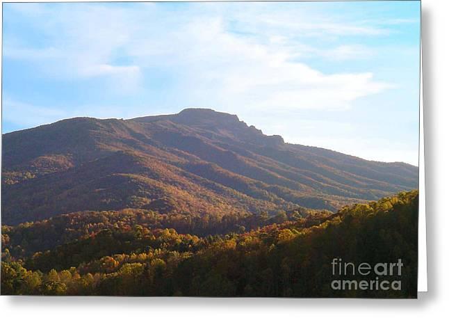 Grandfather Mountain Greeting Card by Annlynn Ward
