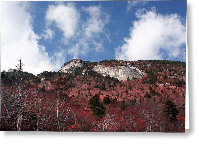 Grandfather Mountain East Side Greeting Card