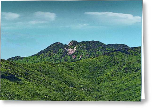 Grandfather Mountain, Nc Greeting Card by Patricia Brock