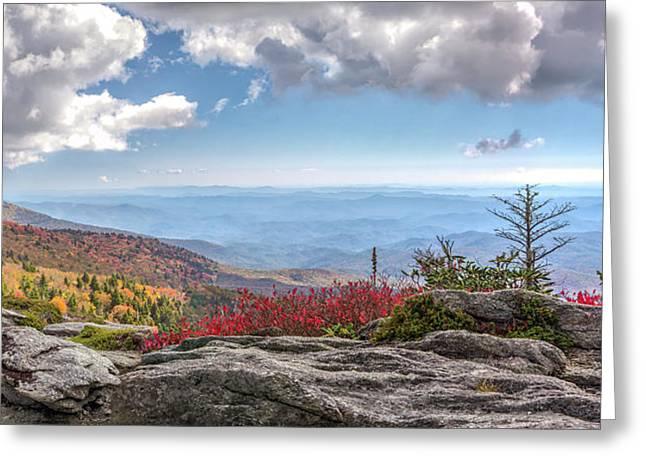 Grandfather Mountain Panorama 02 Greeting Card