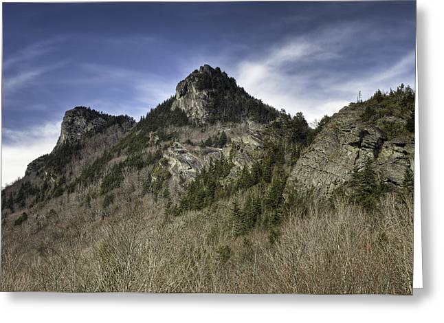Grandfather Mt. Greeting Card by Harry H Hicklin