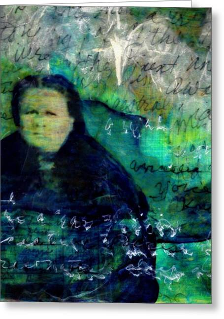 Grandmother Maggie-study Greeting Card