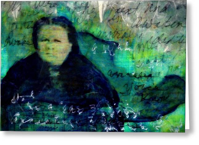 Grandmother Maggie-study Greeting Card