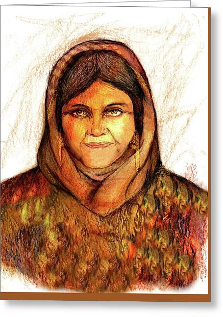 Grandmother Noora Greeting Card