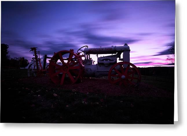 Grandview Sunset Greeting Card