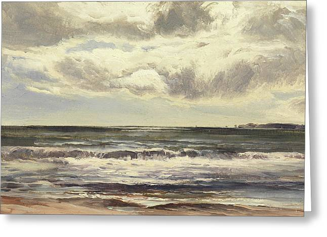 Grange Over Sands Greeting Card by Sidney Richard Percy