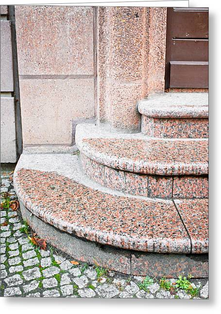 Granite Steps Greeting Card