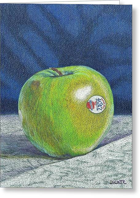 Granny Smith Greeting Card