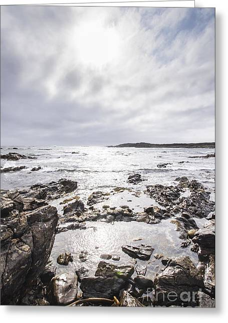 Granville Harbour Seascape Greeting Card by Jorgo Photography - Wall Art Gallery