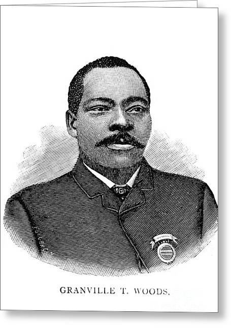 Granville Woods, American Inventor Greeting Card