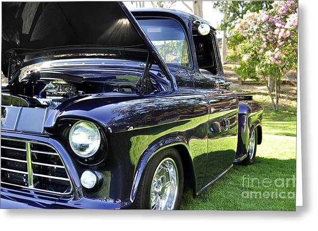 Grape Fully Blown Pickup Greeting Card by Clayton Bruster
