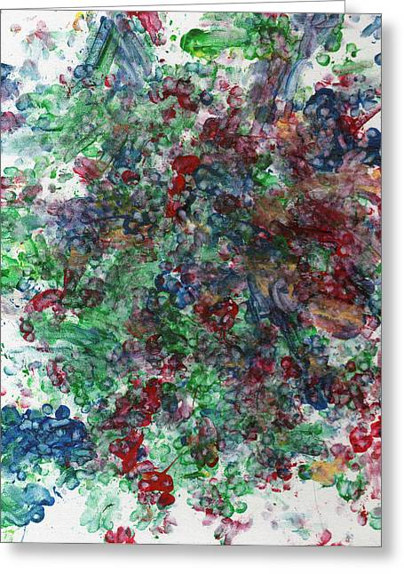 Grape Vines Paintings Greeting Cards - Grape Vine Greeting Card by Antony Galbraith