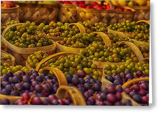 Grapes Galore Greeting Card