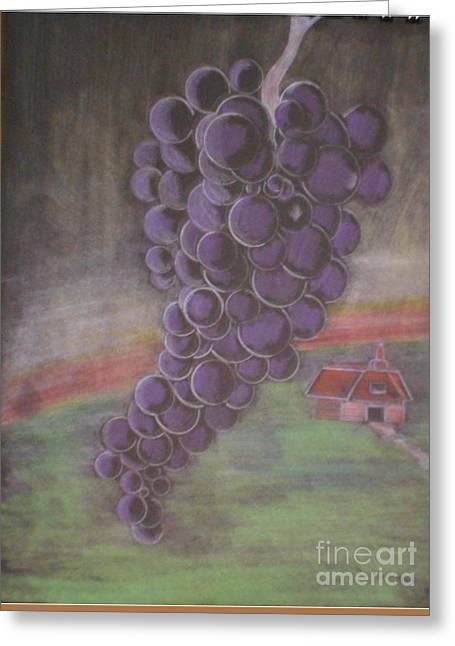 Grapes Of Wrath Greeting Card