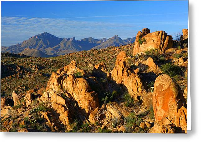 Grapevine Hills Greeting Card
