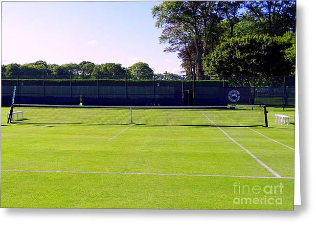 Grass Courts Greeting Card