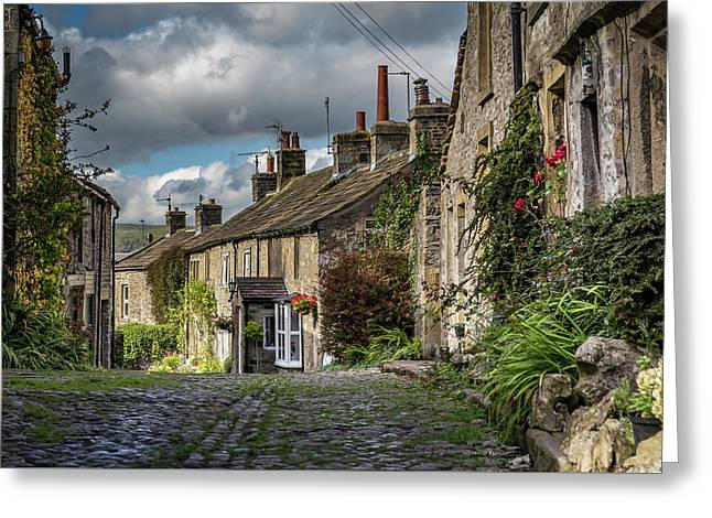 Grassington Greeting Card by Yorkshire In Colour