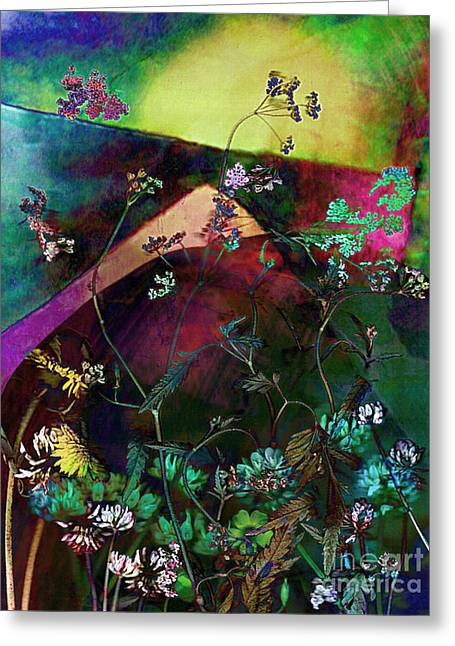 Grassland Series No. 6 Greeting Card by Vinson Krehbiel