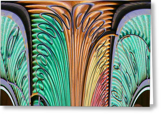 Grate Colors Abstract Greeting Card