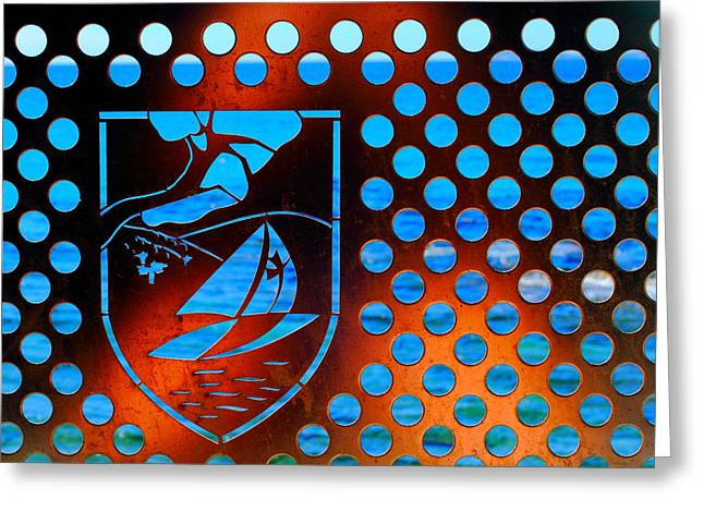 Grate View Greeting Card by Richard Patmore