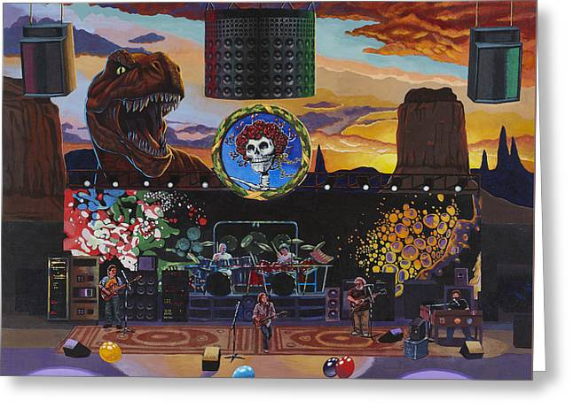 Grateful Dead Live Greeting Card