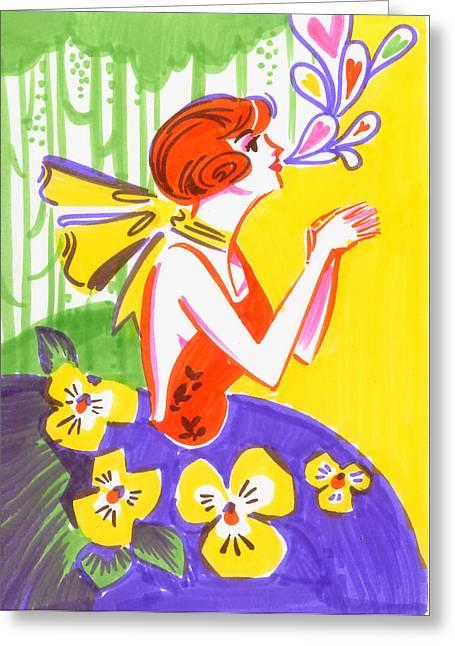 Gratitude Greeting Card by Christina Siravo