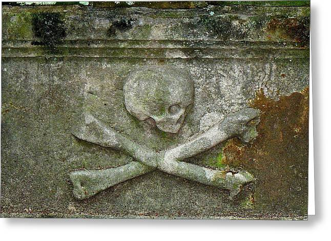 Grave Business 2 Greeting Card by Robert Joseph