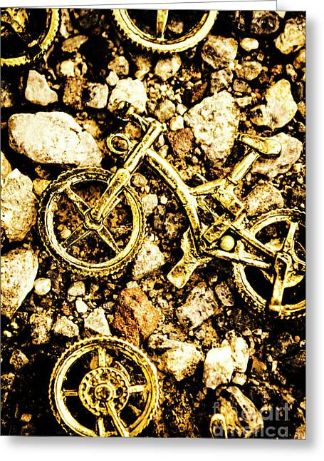 Gravel Bikes Greeting Card by Jorgo Photography - Wall Art Gallery