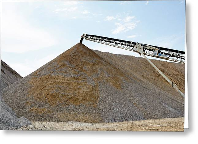 Gravel Mountain Greeting Card