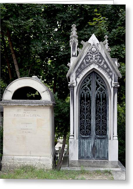 Gravesite Greeting Card by Michael Riley