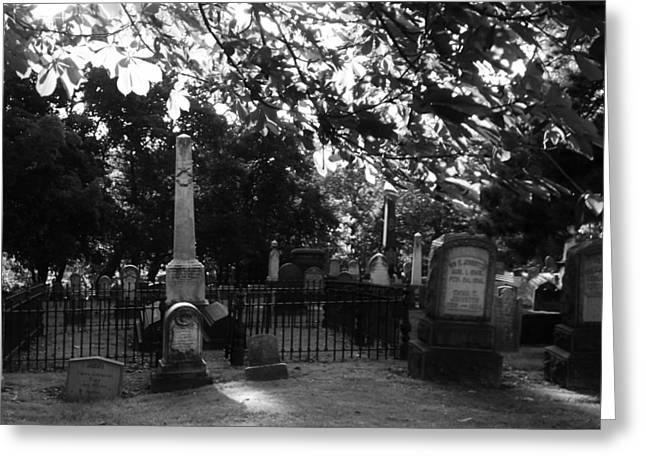 Graveyard 2 Greeting Card