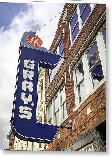 Gray's Rx In Franklin Tn Greeting Card
