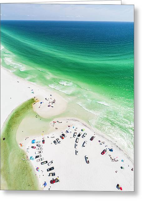 Grayton Beach Hang Time Greeting Card