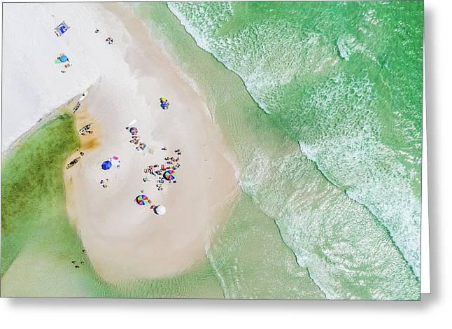 Grayton Beach Island Time Greeting Card