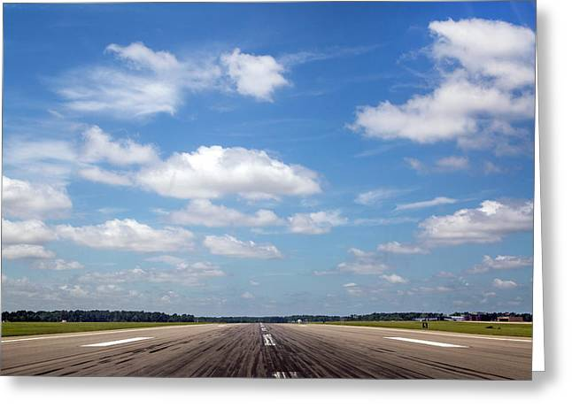 Grease That Landing Greeting Card by Betsy Knapp